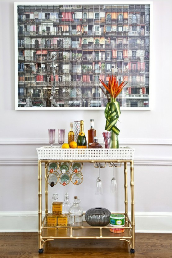Mr. Kate - ask Mr. Kate: how to create an organized home bar?