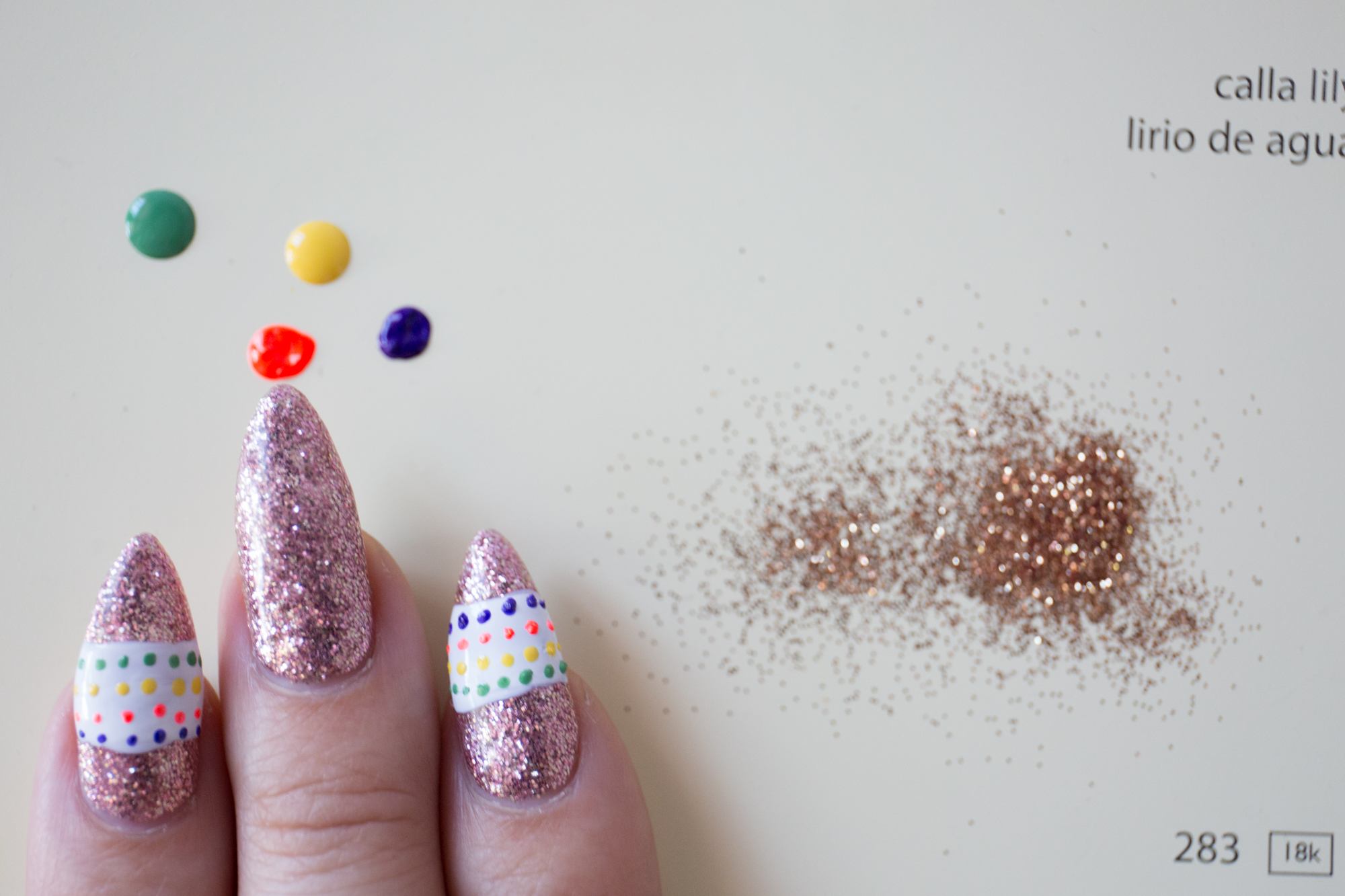 Mr. Kate - DIY Piñata Nails