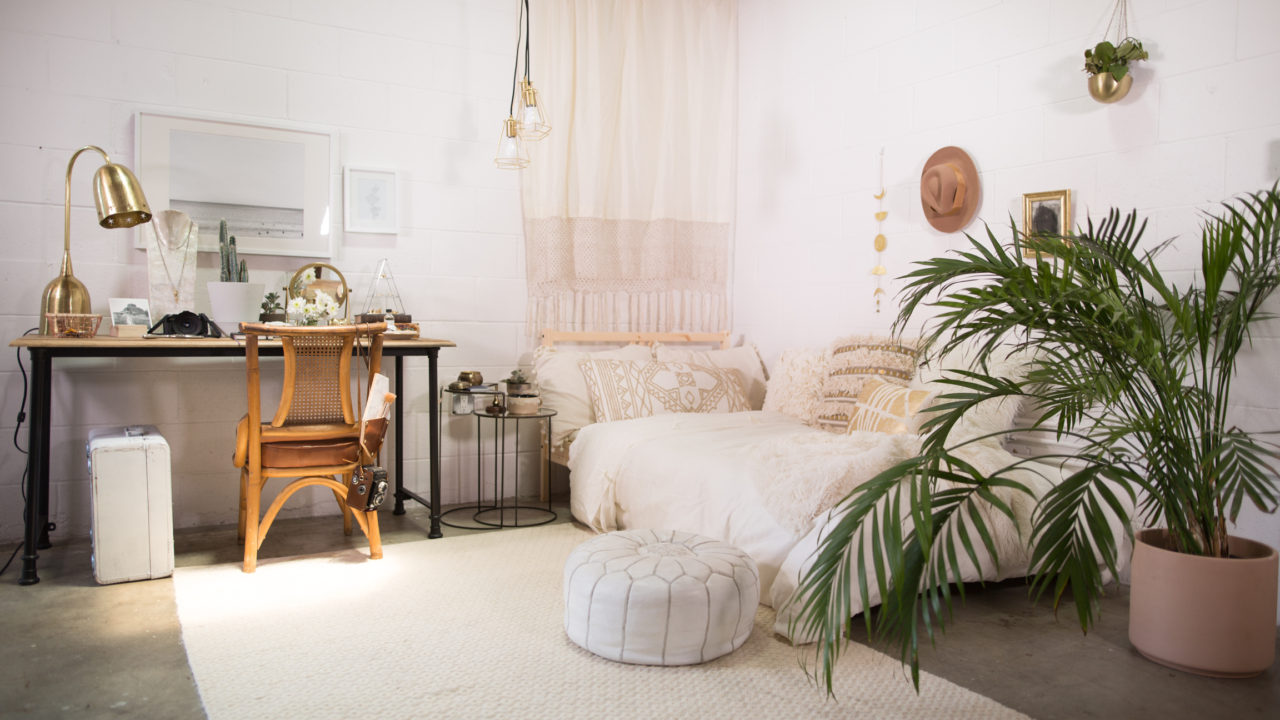 Room 1 Neutral Bohemian