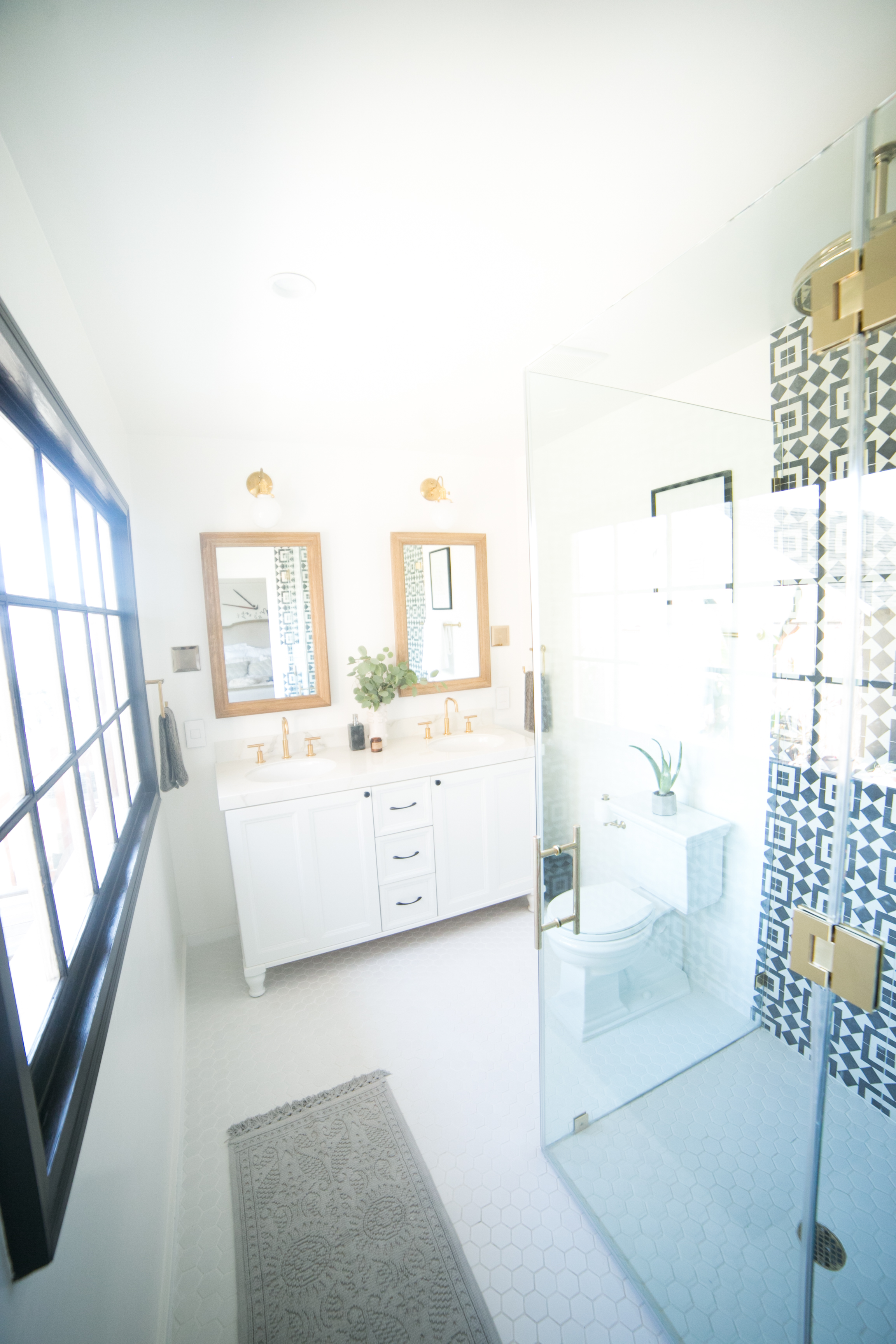 Mr. Kate - OMG We Bought A House: Master Bathroom Reveal!