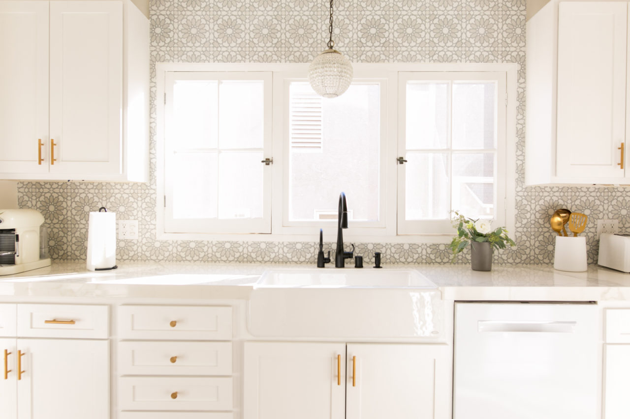 Mr. Kate - OMG We Bought A House: Vintage-Inspired Kitchen Reveal