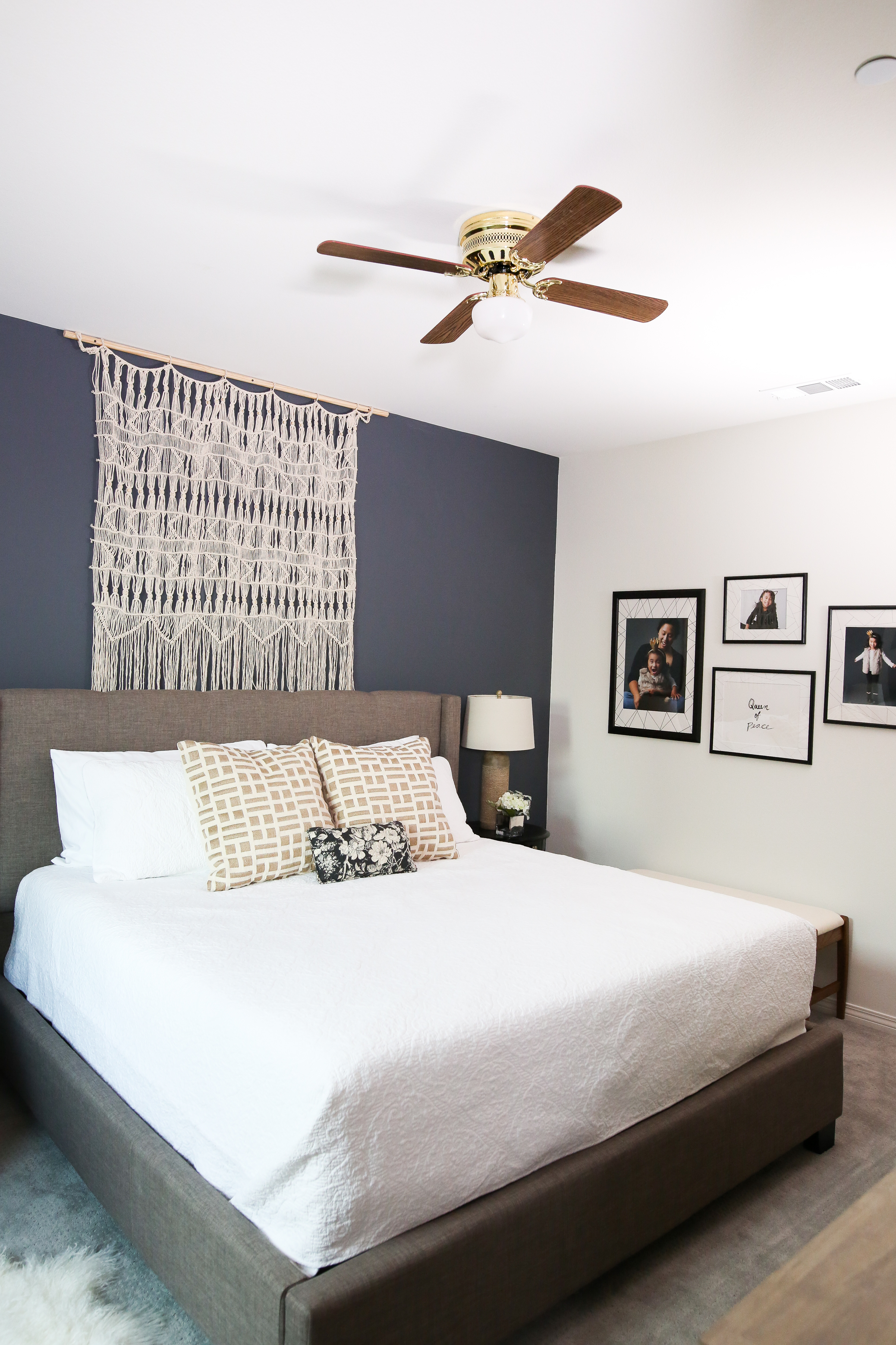 Mr Kate Hotel Chic Neutral Bedroom Makeover