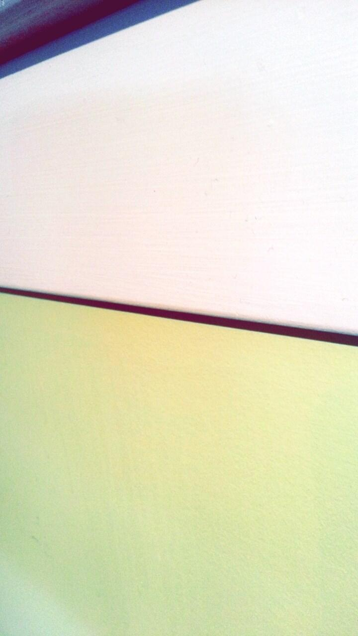 Contrast on my wall color with white