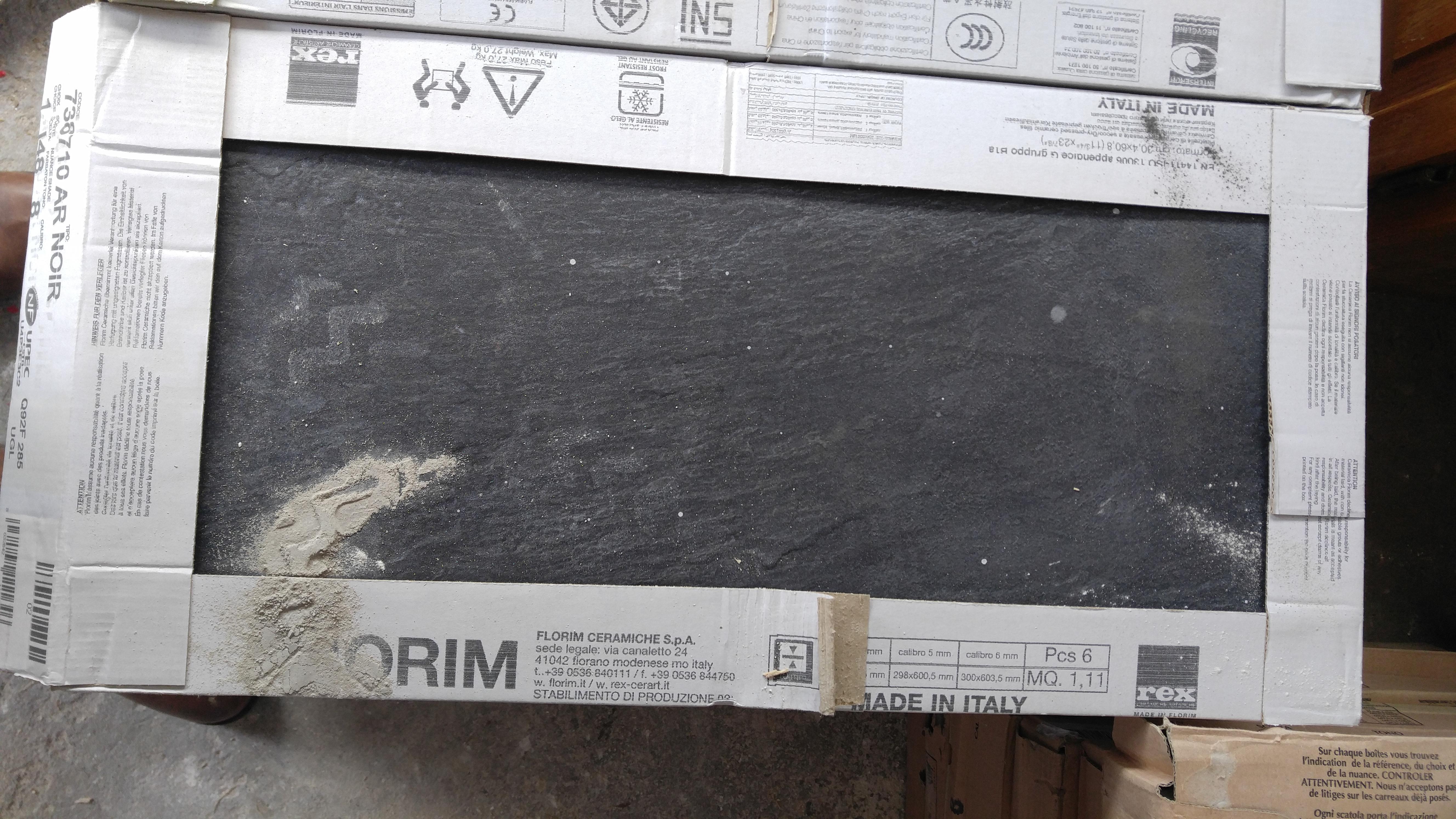 Mudroom floor tile