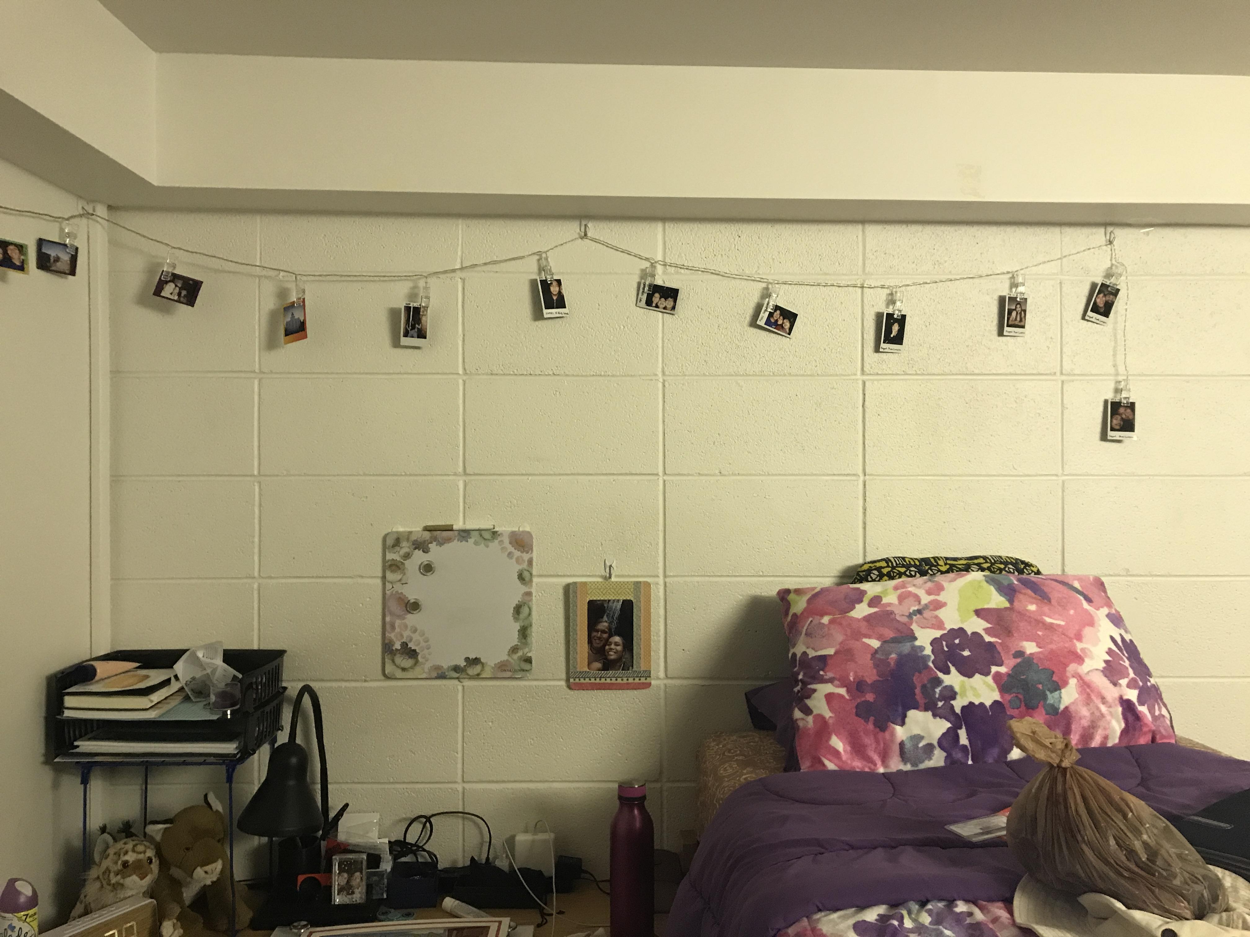 my dorm.