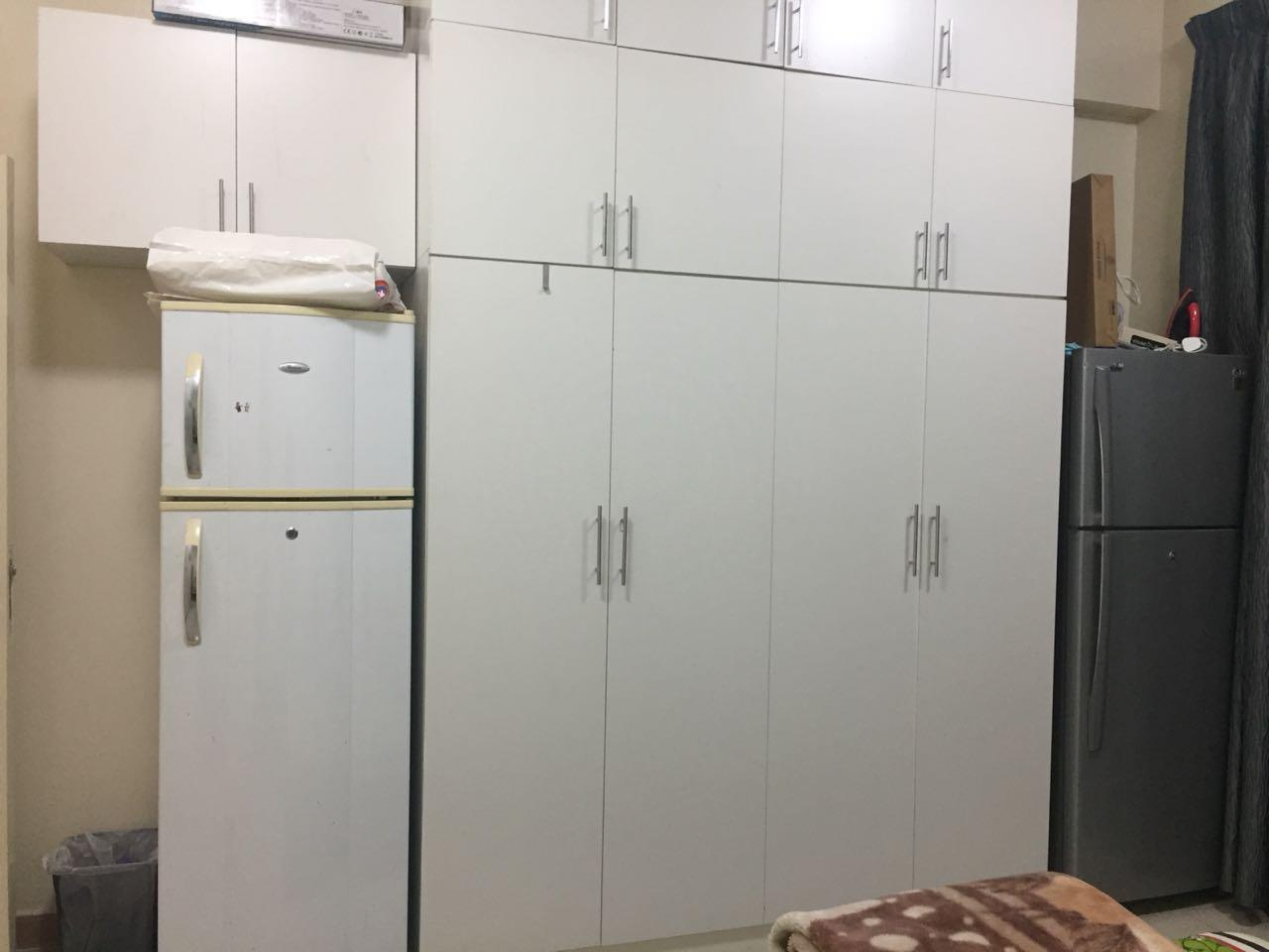 Both refrigerators will go in kitchen